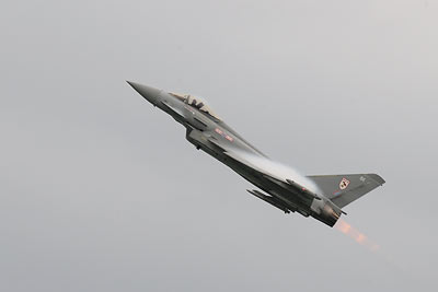 Eurofighter afterburner