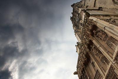 Canterbury Cathedral dramatic skies
