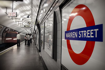 Warren Street, London Underground