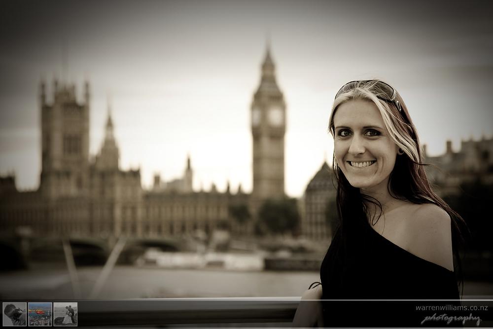 Leanne in London