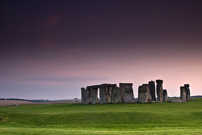 Stonehenge in twilight