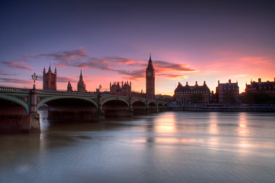 Westminster Big Ben Sunset