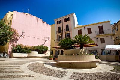 Alghero Courtyard