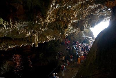 Neptune's Grotto Exit
