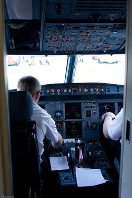 G-EZAN - A319 Cockpit