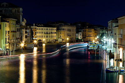 Grand Canal Venice at Night