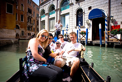 Venice Gondola Top Deck