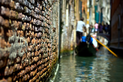 Venice Gondola Bricks