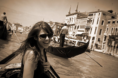 Having a laugh in Venice