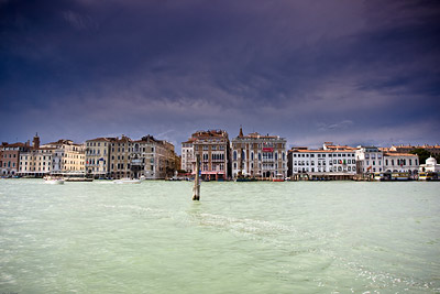 Thunderstorm approaches Venice