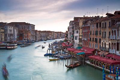 Slow shutter over Venice