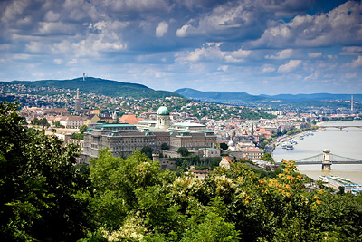 Budapest, overlooking the Danube