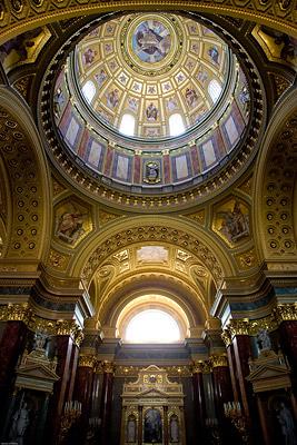 Inside of the Basilica, Budapest