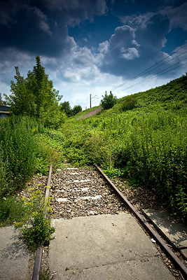Disused railway near Schindler's Factory