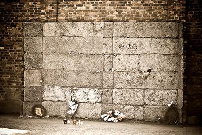 Torture Wall Auschwitz