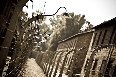 Security Fences at Auschwitz