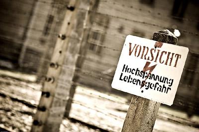 Death Sign Auschwitz