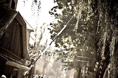 Entrance Gate Auschwitz -