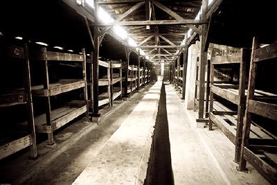 Overcrowded Auschwitz Birkenau