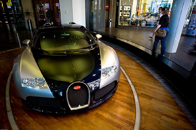 Bugatti Veyron in Showroom