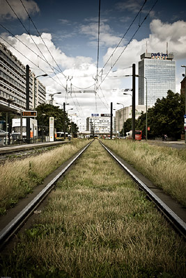 Railway line in Berlin
