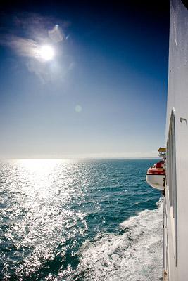 Calais Dover Ferry Sun