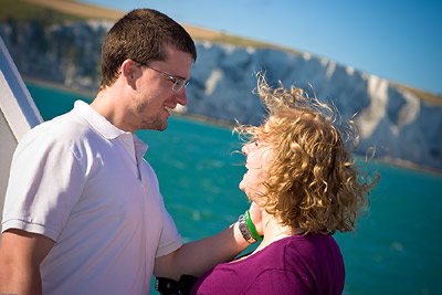 Matt & Erin, White Cliffs Dover