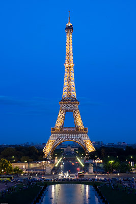 Dazzling Lights Eiffel Tower