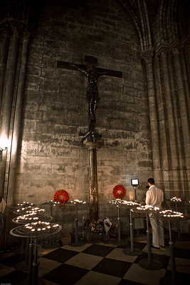 Cross in Notre Dame Paris