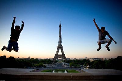 Jumping Trocadero