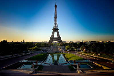 Eiffel Tower Morning Light