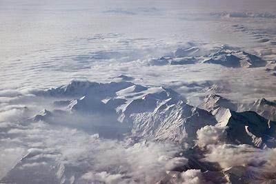 Alps 35,000 feet
