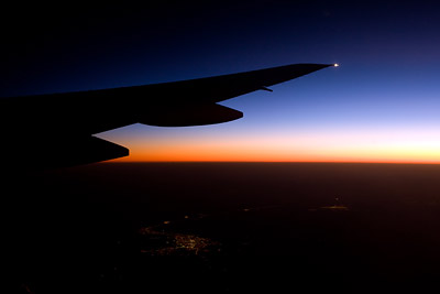 Twilight Emirates 777-300