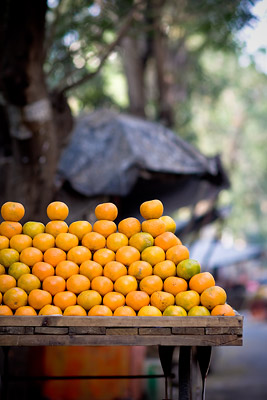 Oranges in Mumbai