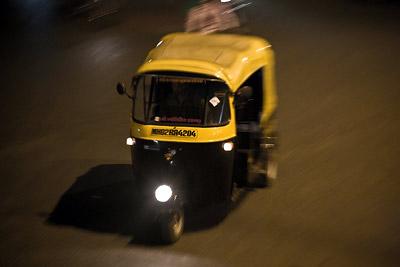 Rickshaw motion blur