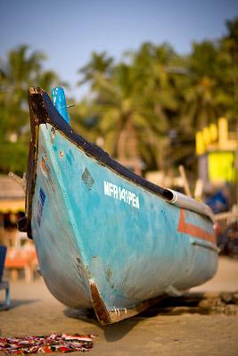 Arambol Boat, Goa