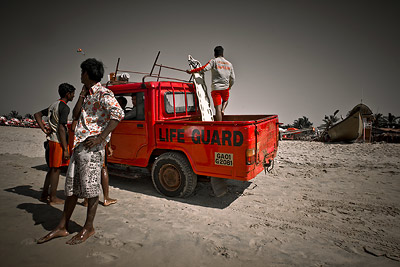 Lifeguards Calangute