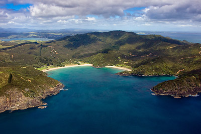 Taemaro Bay, Aerial Photo, Northland New Zealand