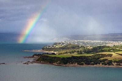 Whangaparaoa Rainbow aerial