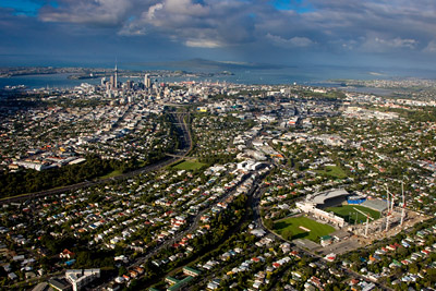 Auckland / Eden Park aerial