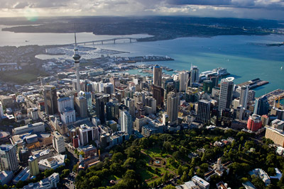 Auckland City Aerial Sht