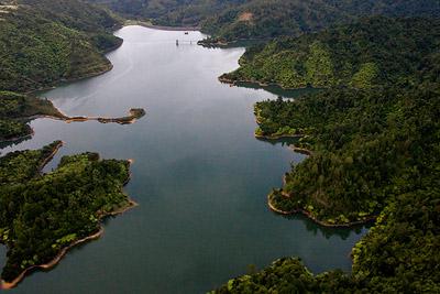 Hunua Dam - Aerial