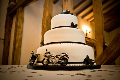 Motorcycle Wedding Cake