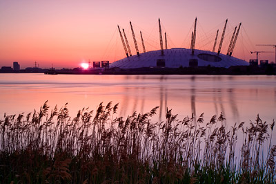 O2 Dome Sunrise