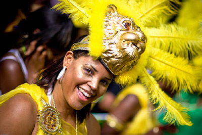 Notting Hill Carnival Eye Contact