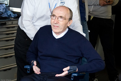 Sir Frank Williams - Brands Hatch