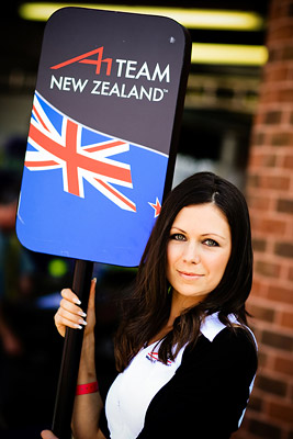 A1GP Grid Girl Team New Zealand
