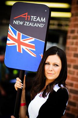 A1GP Grid Girl Team New Zealand