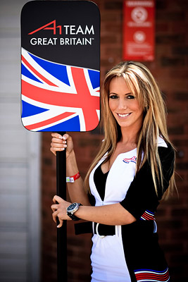 A1GP Grid Girl Team Great Britain