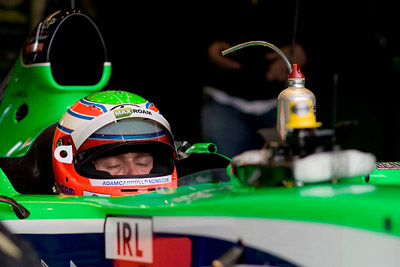Adam Carroll - Team Ireland A1GP in cockpit